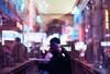 Modern Crowds (Hayden_Williams) Tags: themet themetropolitanmuseumofart art museum metropolitan artistic doubleexposure multipleexposure analog analogue canonae1 fd50mmf18 film silhouette shadow people crowd crowded interior architecture bokeh city nyc newyork newyorkcity dream dreamy dreaming night