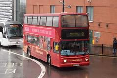 NXWM 4575 @ Moor Street Queensway, Birmingham (ianjpoole) Tags: national express west midlands transbus trident alexander alx400 bu04bka 4575 working route 2 maypole lane carrs birmingham