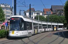 6366 1 (brossel 8260) Tags: belgique gent gand tram delijn