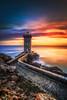 Finistere ... (Ludovic Lagadec) Tags: finistere bretagne seascape sky sunset longexposure landscape ludoviclagadec nisi canon6d lighthouse kermorvan leconquet