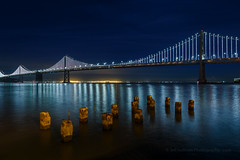Bay Bridge at Night (Jeffrey Sullivan) Tags: san francisco night travel photography bay area bridge california usa canon eos 6d photo copyright 2018 january jeff sullivan