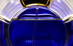 Boucheron In a Bottle (j.towbin ©) Tags: allrightsreserved© macro macromondays inabottle perfume fragrance blue glass spraybottle stem atomizerstem jaipur boucheron