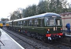 Class 105 Sc51485 & E56121 (Will Swain) Tags: east lancs railway scenic railcar weekend 4th november 2017 elr train trains rail railways transport travel uk britain vehicle vehicles country england english north west lancashire class 105 sc51485 e56121 51485 56121