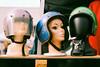 (Casey Lombardo) Tags: heads helmets mannequins mannequin motorcyclehelmets helmet retro sparkle longbeach longbeachca kodak kodakfilm kodakgold expired expiredfilm film filmphotography colornegative colorfilm minoltasrt101 gold 100