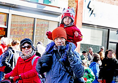Happy Chinese New Year! (kirstiecat) Tags: happychinesenewyear chinesenewyear yearofthedog family parents child kid chicago canon street chinatown mother father son celebration parade fun festive