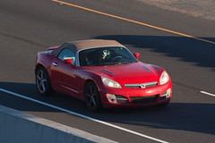 Saturn Sky (jbp274) Tags: highway freeway road cars automobiles saturn sky