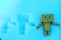 Danbo by RK (3) @winter2018 (Robert Krstevski) Tags: robertkrstevskiblogspotcom robkrst robertkrstevski robertkrstevskiblogspotmk danbo danboard danbomacedonia danbostory danborou danboamazon snow winter winter2017 snow2017 light nikon nikond3300 europe balkan macedonia travel revoltech robot robots minimalisam funny cute данбо life