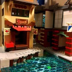 WIP (Detail): Ninjago City Extension (eurotrash48903) Tags: ninjagocity modular ninjago afol moc lego