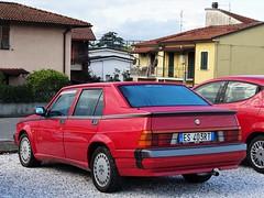 1988 Alfa Romeo 75 3.0 V6 America (Alessio3373) Tags: cars worldcars youngtimers autoshite alfaromeo alfaromeo75 alfa75 alfa7530v6america transaxle oldcars classiccars