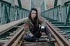 Por las vías (natudecheshire) Tags: retrato portrait chica beauty mujeres woman women mujer bellas ellas