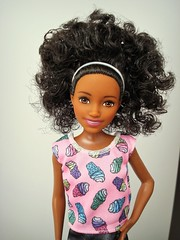 Smile (Deejay Bafaroy) Tags: barbie skipper babysitters mattel doll puppe black pink rosa portrait porträt