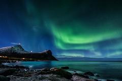 Nordlysnatt ved Myrland (steinliland) Tags: auroraborealis northernlights lofotenisland arcticnature winter