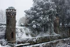 Le Torrette (MarcoPistolozzi) Tags: snow neve river fiume castello bagni di lucca tuscany grigio