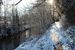"""Walks on the Darent"" (Adam Swaine) Tags: darentvalley riverdarent rivers kent water walks trees snow snowscenes england english englishrivers canon counties countryside britain british ukcounties uk winter paths kentishlandscapes rural ruralkent"