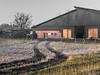 Frosty Morning (ARTUS8) Tags: nikon24120mmf40 flickr baum landschaft nikond800 hütte gras feld field scheune barn