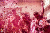 Boisterous Boys (Shikher Singh) Tags: holi vrindavan colours festival celebration joy happiness together red petals boys kids jumping shikher'simagery
