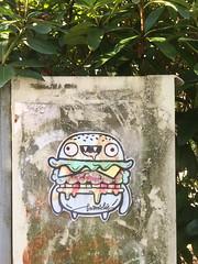 BAanslig Burger (svennevenn) Tags: gatekunst streetart bergen barnslig burgers
