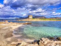 Torre della Pelosa (giannipiras555) Tags: stintino sardegna inverno torre isole nuvole spiaggia landscape paesaggio