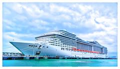 MSC DIVINA (Timothy Valentine) Tags: ship clichésaturday vacation 0417 2017 sanjuan puertorico pr
