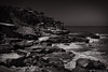 Cliffs (Marcel Rodz) Tags: mar del plata argentina oceano ocean sea seascape lanscape rodriguezpuebla rodz black white sepia blanco y negro 2017 fuji fujifilm xt2 1855 acantilados cliffs waves olas