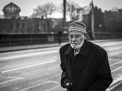 South South East (Leanne Boulton) Tags: portrait urban street candid portraiture streetphotography candidstreetphotography candidportrait streetportrait eyecontact candideyecontact streetlife man male face expression eyes look emotion mood feeling electroniccigarette vape pedometer muslim mosque juxtaposition religion bridge riverclyde tone texture detail depthoffield bokeh naturallight outdoor light shade city scene human life living humanity society culture people canon canon5d 5dmkiii 70mm ef2470mmf28liiusm character black white blackwhite bw mono blackandwhite monochrome glasgow scotland uk