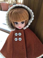 Wintery (debbiejones12) Tags: licca sewing cape