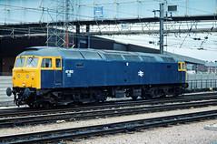 47 192, Preston, 27-07-84 (afc45014) Tags: br britishrail class47 47192 brush sulzer type4 preston kodakkodachrome64