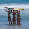 Boogie Board on Top (Kevin MG) Tags: zumabeach beach zuma swimsuit ocean sand water girls young youth cute pretty little bikinis boogieboard