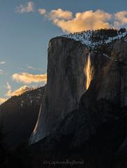 _8107898_00018153 (captured by bond) Tags: horsetail horsetailfall yosemitenationalpark yosemite california capturedbybond waterfall elcapitan clouds drama dreamy