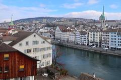 Zürich, 31.1.18 (ritsch48) Tags: zürich lindenhof pfalz limmat limmatquai