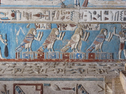 Human-Headed Ba Birds, Dendera Temple
