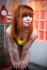 И что же ты хочешь? (Chizury) Tags: ifttt 500px portrait girl beauty beautiful woman lifestyle model happy caucasian young redhead cosplay indoor curiosity vertical misty attraction casual adult redhair standing posing attractive one person ponytail confident pokemon clothing 2024 years hands hips