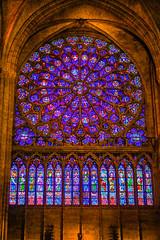 Notre Dame de Paris Cathedral Rosette (Maximum YéYé) Tags: notredamedeparis cathedral paris france rosette