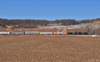 Eastbound Manifest in Liberty, MO