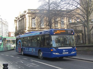 Go North East 5272 NK56KKH Westgate Rd, Newcastle on a diverted 11 (1280x960)
