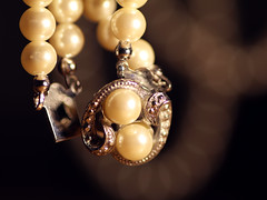Fasteners (Tomo M) Tags: fasteners macromondays jewelry jewellery pearl macro bokeh