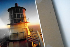 DSC00304 (classroomcamera) Tags: school classroom point reyes lighthouse postcard mail decoration binder personalize stack layer layers sunset light white brown tan