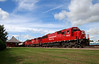 CP 6222 Wells, MN (rathman11) Tags: cp canadianpacific cp6222 cp6262 emd emdsd60 sd60 wellsmn depot train sd60m emdsd60m jacksonsubdivision cp6246