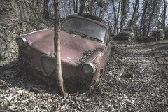 'Blockade' (Timster1973 - thanks for the 15 million views!) Tags: german germany germanyexploration tim knifton timster1973 timknifton derelict decay exploration explore eurotour canon europe color colour urbandecay neglect neglected decaying decayed dereliction urbanwandering exploring old still silent auto cars car carmargeddon ruins ruin rust rusty rusted rusting transport transportation oldtransport autofriedhof vehicles vintage vintagevehicles