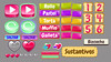 ZOMBIE CAKES_Rainbow Tree Inc. (Yapi Design) Tags: rainbowtree arbolabc yapi game gamedesign gameui buttons icons graphicdesign illustration vectors 2dicons