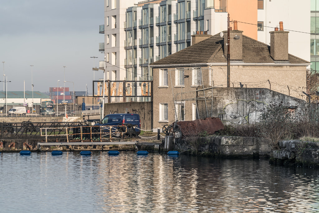 GRAND CANAL DOCK AREA OF DUBLIN [PHOTOGRAPHED 11 JANUARY 2018]-135430