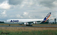 F-WWBA (@Eurospot) Tags: fwwba airbus a340 a340200 toulouse blagnac
