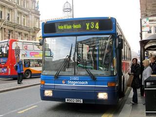 Stagecoach North East Alexander Strider Volvo B10B 21002 M902 DRG