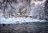 Old arch bridge, Glen Lyon (gallowaydavid) Tags: arch bridge glenlyon brenizer snowscape snow