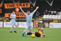 Cray Wanderers 1 Lewes 2 20 01 2018-210.jpg (jamesboyes) Tags: lewes cray bromley football bostik isthmian fa soccer action goal game celebrate celebration sport athlete footballer canon dslr