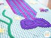 Mica the Mermaid & Jellyfish Blanket PDF Crochet Pattern by IraRott (Ira Rott) Tags: mermaidblanket mermaidtail crochetblanket mythicalcreature seablanket ocean crochetthrow irarott