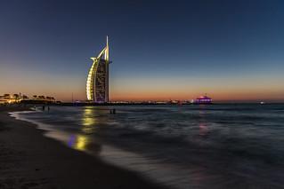 Dubai, United Arab Emirates - The Burj Al Arab