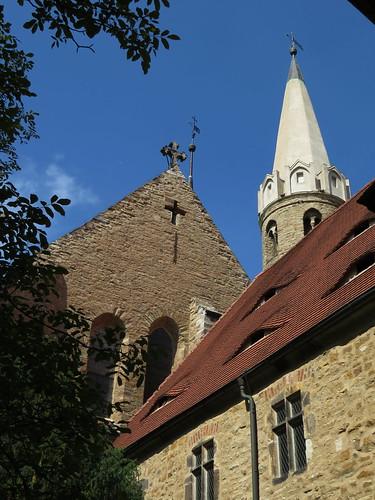 20170528 01 251 Regia Merseburg Dom Kreuzgang Kreuz Turm
