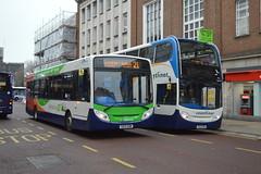 Stagecoach South (PD3.) Tags: 10001 gx12dxm gx12 dxm scania enviro 400 coastliner 700 dennis 300 27867 gx13aom gx13 aom bus buses psv pcv hampshire hants england uk portsmouth stagecoach