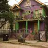 Mardi Gras Colored House (bongo najja) Tags: 35 rolleiflex bright colored houses